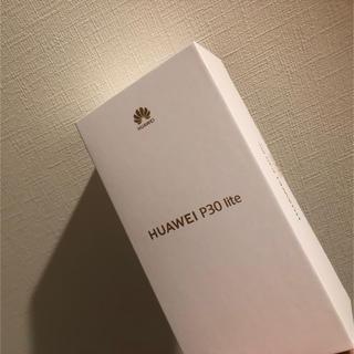 ANDROID - HUAWEI P30 Lite ミッドナイトブラック 新品未使用品