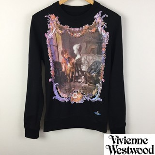 Vivienne Westwood - 美品 ヴィヴィアンウエストウッドマン 長袖スウェット ブラック サイズXS