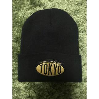 マークジェイコブス(MARC JACOBS)のマーク♡ワッペンロゴニット帽(ニット帽/ビーニー)