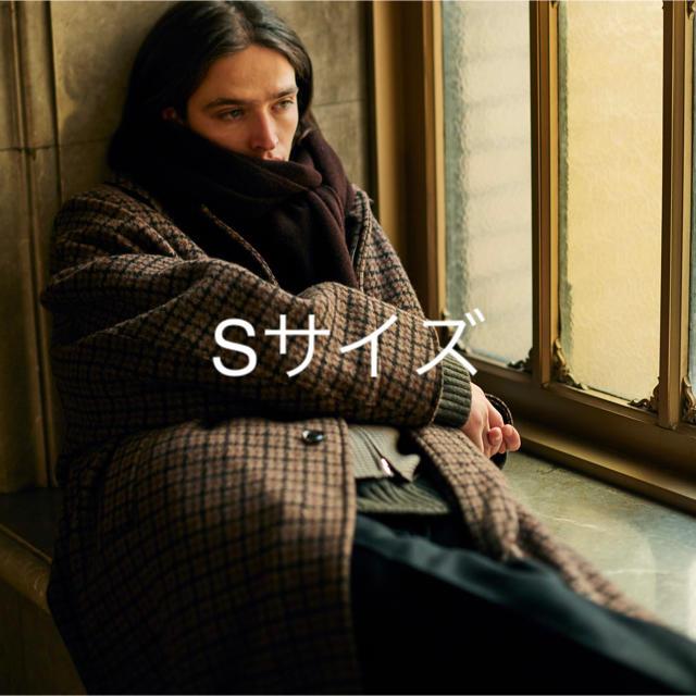 YOKE DOUBLE JQUARD KNIT BAL COLLAR COAT メンズのジャケット/アウター(ステンカラーコート)の商品写真