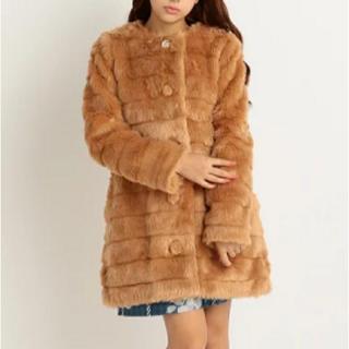 リズリサ(LIZ LISA)のビジューファーコート(毛皮/ファーコート)