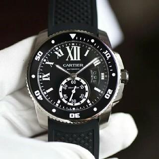 Cartier - 新品~Cartier42 mm直径ブルーサファイア/カモメが独立した小秒自動機械