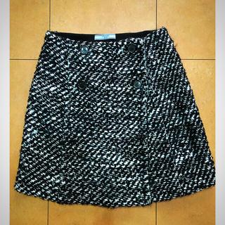 プラダ(PRADA)のプラダ ツイードスカート ミニスカートPRADA(ミニスカート)