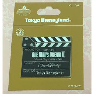 Disney - ワンマンズドリームⅡ ピンバッジ カチンコ ワンマンズドリーム