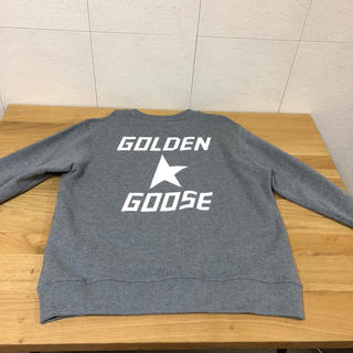GOLDEN GOOSE - GOLDEN GOOSE ゴールデングース パーカー グレー メンズ
