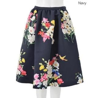 チェスティ(Chesty)のチェスティ♡バードフラワースカート(ひざ丈スカート)