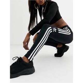 adidas - 【 Lサイズ】新品タグ付き アディダス adidas ロゴ レギンス ブラック