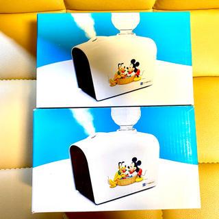 ディズニー(Disney)の新品 ディズニーデザイン加湿器 2個セット(加湿器/除湿機)