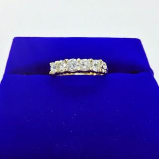 K18 プラチナ ダイヤモンドリング 1.00ct
