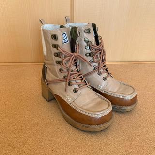 ヨースケ(YOSUKE)のYOSUKE 皮 ブーツ 23.0センチ(ブーツ)