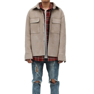 FEAR OF GOD - URKOOL SUEDE COAT