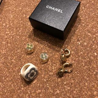 CHANEL - 正規品CHANELピアス 指輪 セット