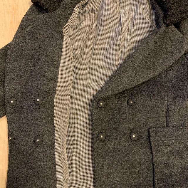 petit main(プティマイン)のグレーコート 120 キッズ/ベビー/マタニティのキッズ服 女の子用(90cm~)(コート)の商品写真
