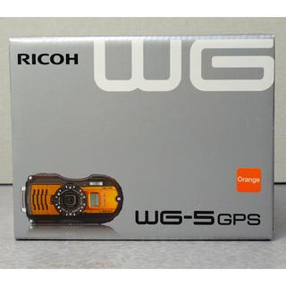 リコー(RICOH)のRICOH WG-5 GPS  オレンジ(コンパクトデジタルカメラ)