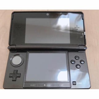 任天堂 - ニンテンドー 3DS 黒【ソフト同時購入で割引!】