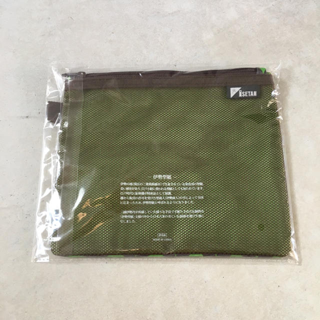 伊勢丹(イセタン)のISETAN 伊勢丹 ポーチ レディースのファッション小物(ポーチ)の商品写真