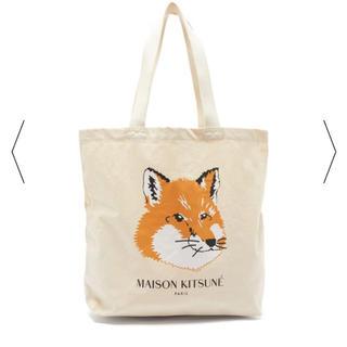 メゾンキツネ(MAISON KITSUNE')のMAISON KITSUNE キャンパス トートバッグ 新品 確実正規品(トートバッグ)