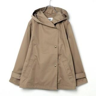 イッカ(ikka)のikka ジャケット Lサイズ ベージュ 未使用(スプリングコート)