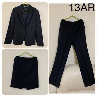 レディース  ビジネス リクルートスーツ3点セット 13号 LLサイズ(スーツ)