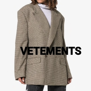 VETEMENTS☆Double-Breasted Jacket ジャケット