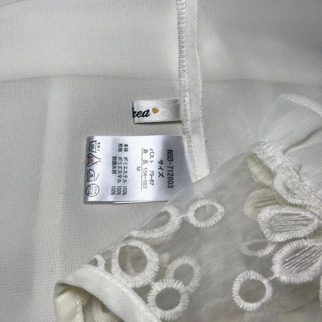 Nohea デコルテ シアー ブラウス♡セシルマクビー イング リズリサ レディースのトップス(シャツ/ブラウス(半袖/袖なし))の商品写真