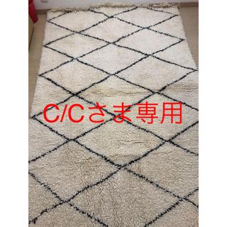 アクタス(ACTUS)のモロッコ ベニワレン ウール ラグ 150×220cm(ラグ)