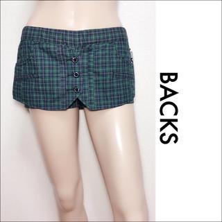BACKS - BACKS チェック スカート スカパン GILFY マウジー ♥️SALE♥️
