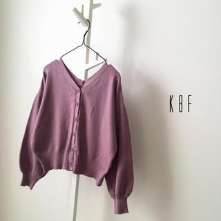 KBF - KBF Vネックカーディガン