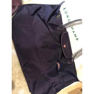 LONGCHAMP - ロンシャン 馬ちゃん ビルベリー ハンドルロング Sサイズ トートバッグ