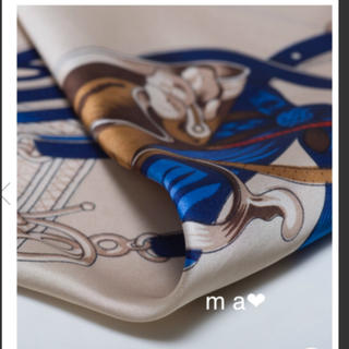 ZARA - 新品 今期デザイン 秋の馬術柄スカーフ 大判スカーフ ストール ショール
