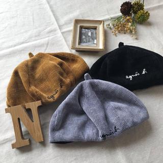 韓国子供服*コーデュロイ ベレー帽