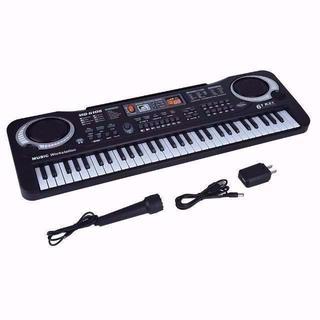 電子キーボード 61キー キッズピアノ デジタルキーボード 多機能 音楽キーボー
