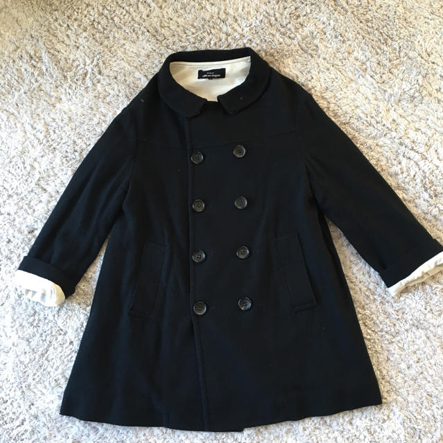 COMME des GARCONS(コムデギャルソン)のトリココムデギャルソン Pコート お値下げ レディースのジャケット/アウター(ピーコート)の商品写真