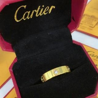 ♥素敵 カルティエ リング(指輪) Au750 イエローゴールド