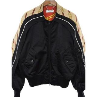 バレンシアガ(Balenciaga)の値下げ BALENCIAGA バレンシアガ スカーフ付 ボンバージャケット(ブルゾン)