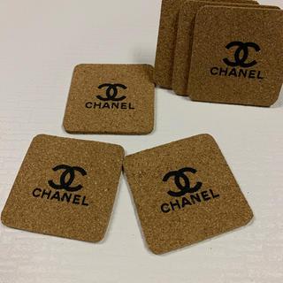 CHANEL - 新品未使用  コルクコースター角 6枚set