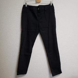 シマムラ(しまむら)のしまむら CLOSSHI 黒パンツ ウエストゴム LLサイズ(カジュアルパンツ)