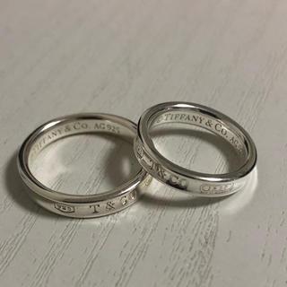 Tiffany & Co. - Tiffany ティファニー リング 指輪 ナローベーシック 925 1837★