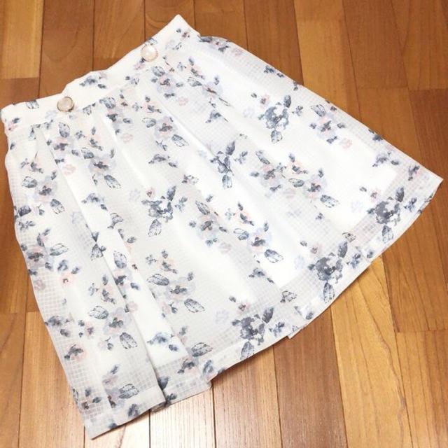 HONEYS(ハニーズ)のハニーズ フラワースカート レディースのスカート(ひざ丈スカート)の商品写真