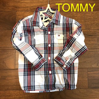 トミーヒルフィガー(TOMMY HILFIGER)のtommy チェックシャツ(ブラウス)