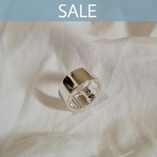 アダムエロぺ(Adam et Rope')の【数量限定SALE】silver 925 widering  *  8mm(リング(指輪))