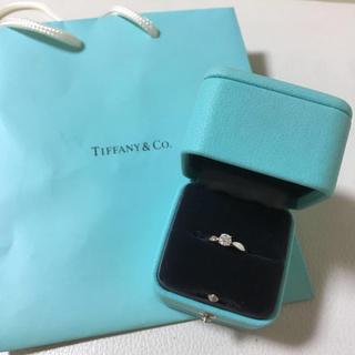 SALE ティファニー Tiffany ハーモニー 婚約指輪 0.29 8号(リング(指輪))