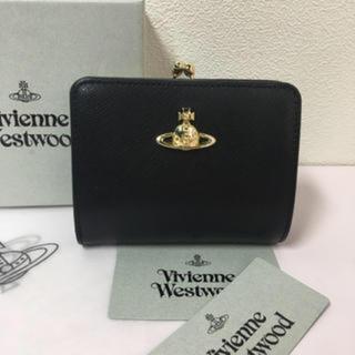 ◆新品◆Vivienne Westwood◆サフィアーノレザー財布◆ブラック