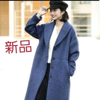 Demi-Luxe BEAMS - 【新品未使用】Demi-Luxe BEAMS シャギー ショールカラーコート
