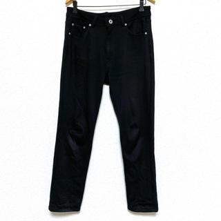 ストレッチパンツ カジュアルパンツ パンツ ブラック 大きいサイズ 秋 冬(カジュアルパンツ)