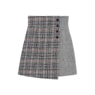 Lily Brown - Lily brown ツイードチェック台形スカート