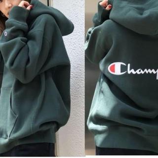 Champion - 完売品 【Champion】チャンピオンスナップフーディー 別注パーカー