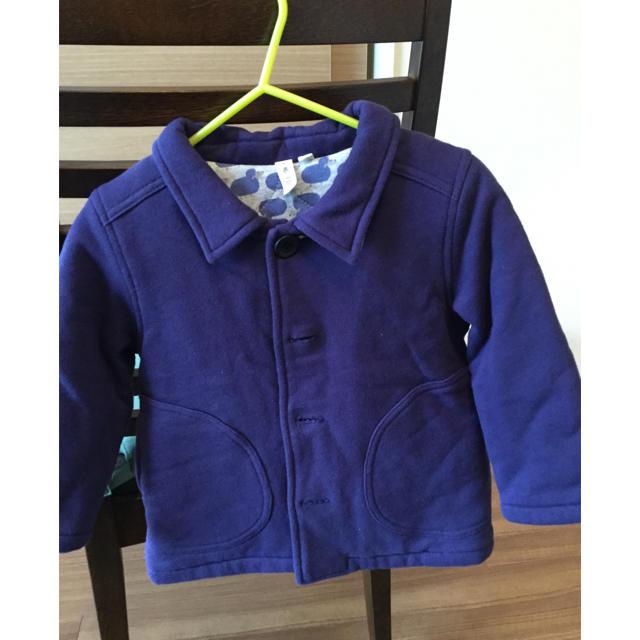 MAJESTIC LEGON(マジェスティックレゴン)のアウター コート サイズ90 キッズ/ベビー/マタニティのキッズ服 男の子用(90cm~)(ジャケット/上着)の商品写真