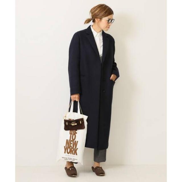 DEUXIEME CLASSE(ドゥーズィエムクラス)のチェスターコート  レディースのジャケット/アウター(チェスターコート)の商品写真