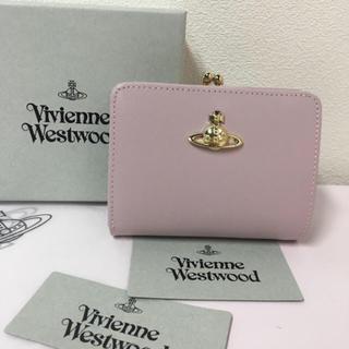 ◆新品◆Vivienne Westwood◆サフィアーノレザー二つ折り財布ピンク